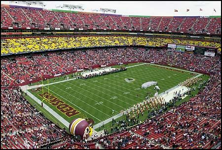 SPORTS - Washington Redskins (Landover Maryland): http://www.redskins.com/