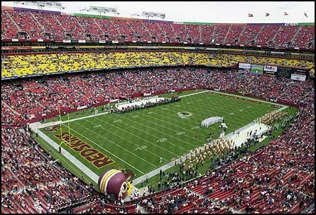 SPORTS - Washington Redskins (Landover Maryland): http://www.redskins.com/