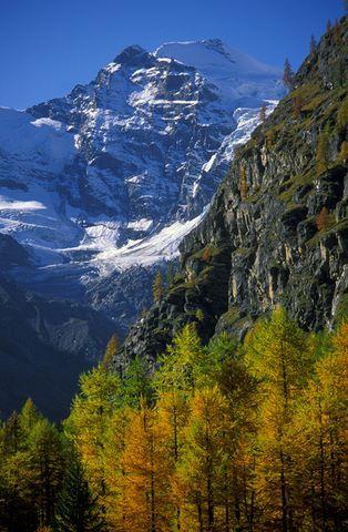 Valnontey - valle secondaria della val di Cogne, a sud del capoluogo.- Al suo culmine si trovano le più importanti vette del massiccio del Gran Paradiso e il Ghiacciaio del Gran Crou.- Presso il villaggio di Valnontey (1.666 m s.l.m.), si trova il Giardino alpino Paradisia, un orto botanico specializzato in essenze alpine - Nella valle vivono numerosi camosci.