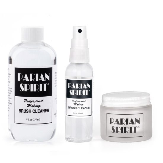 The Parian Spirit Brush Cleaning System contains everything you need to clean your brushes under any circumstance.