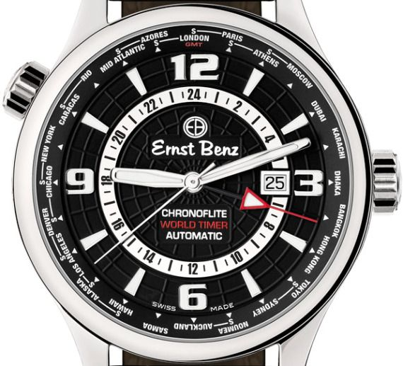 Chef Anthony Bourdain And His Ernst Benz ChronoFlite World Timer Watch Watch Releases