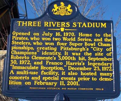 3 rivers stadium.mean joe greene has been known to get a little emotional when he talks about this place.