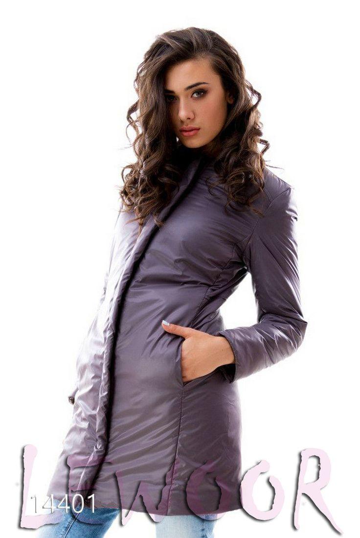 Зимняя практичная куртка до середины бедра - купить оптом и в розницу