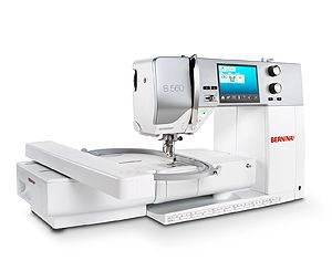 The BERNINA 560: The multi-talented machine for sewing and embroidery with ample space for growing needs.