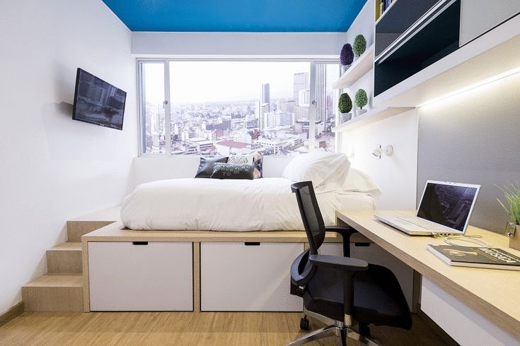 Conoce las nuevas residencias estudiantiles en Bogotá. Arquitectura. Diseño interior. Ocio. Universidad. Espacios. Renovación. Innovación. Residencias. Bogotá.Baños. Cuartos. Cocina. Pequeño. Aprovechamiento.