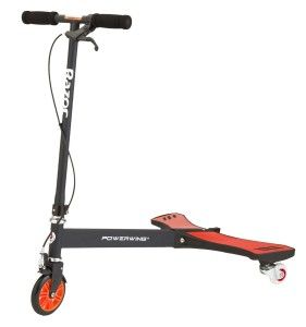 Razor Scooters: Razor PowerWing Caster Scooter, Red/Black Fun trick scooter with pair of rear caster wheels. Ideal for performing kick-outs, side drifts and spin-outs.  Virtually unlimited trick potential. The Powerwing scooter is great. http://awsomegadgetsandtoysforgirlsandboys.com/razor-scooters/ Razor Scooters: Razor PowerWing Caster Scooter, Red/Black