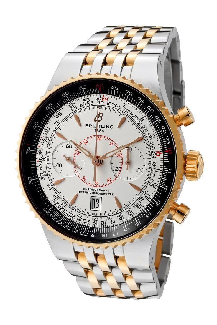 Breitling Men's Navitimer/Montbrillant Legende Chronograph Watch  #Chronograph watch #Sapphire #