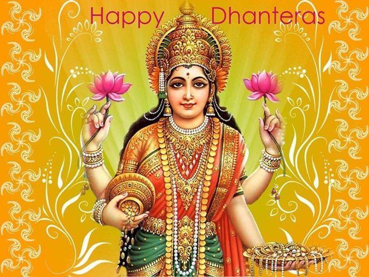 Large Greetings: Happy Dhanteras