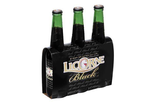 Le nouveau Tripack 33cl de la #bière Licorne Black