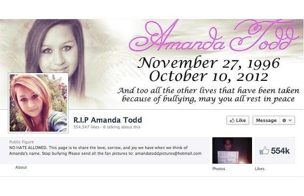 Amanda Todd Facebook page trolling costs Toronto man his job