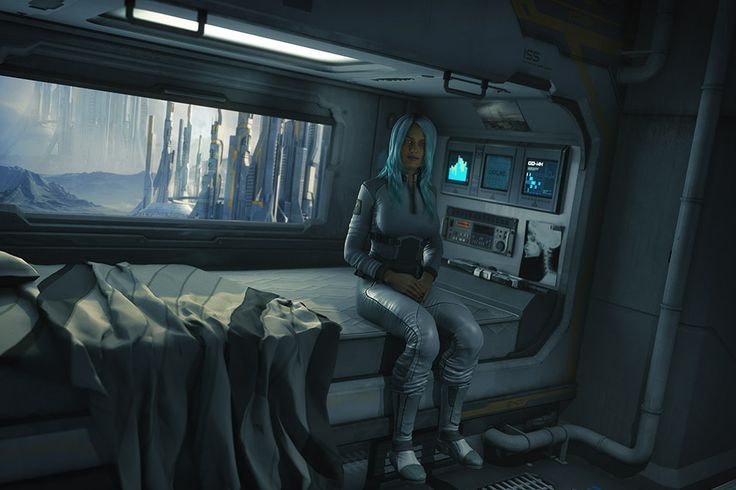 Sci-fi Bedroom By Jugster