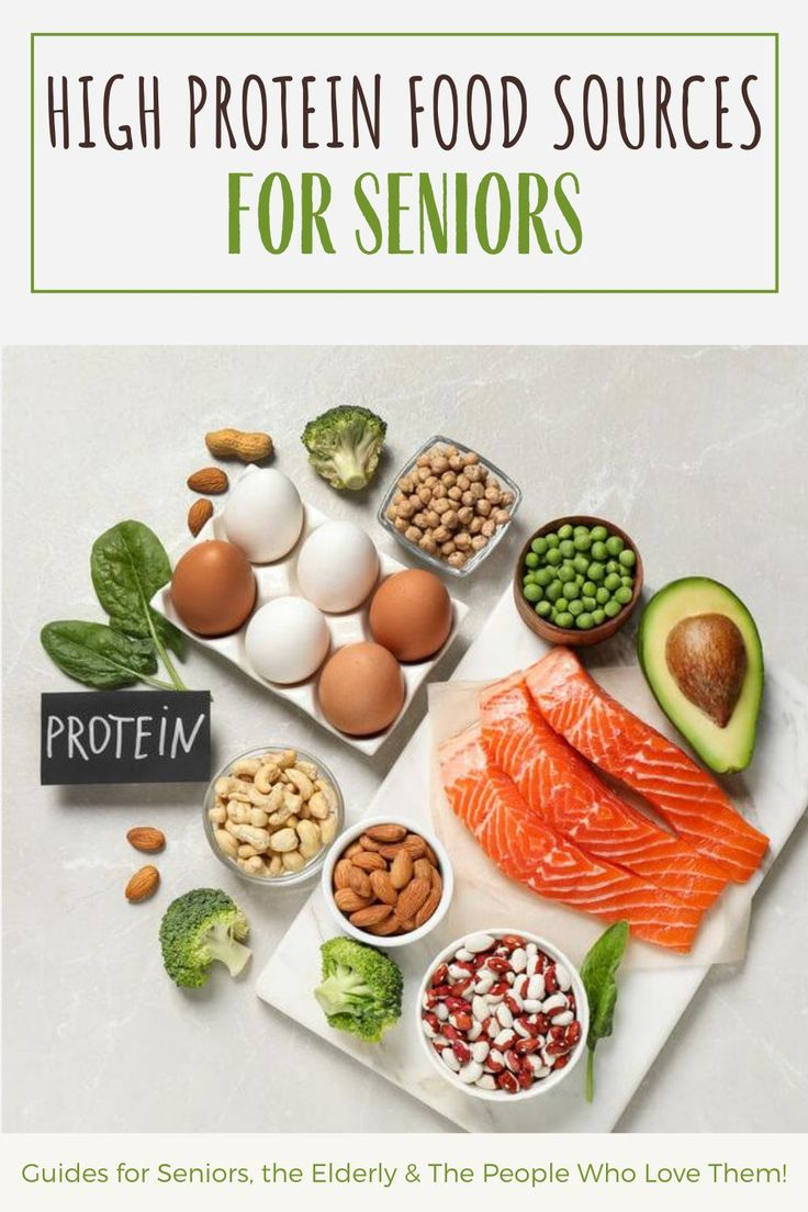 High Protein Food Sources For Seniors And The Elderly in