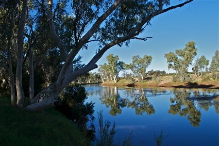 Redbank Waterhole, Owen Springs, near Alice Springs, NT