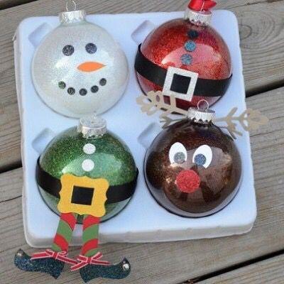 Bolas de Navidad originales