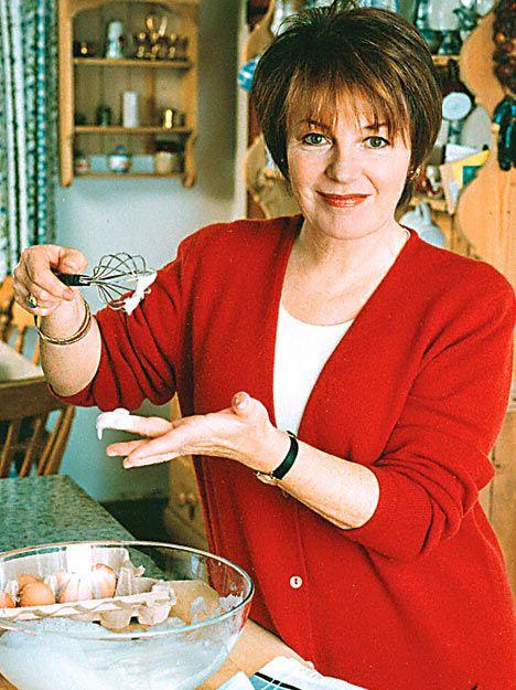 Great Britain's Chef, Delia Smith, food goddess!