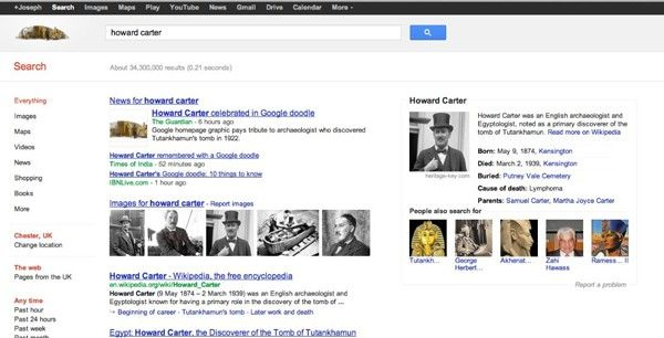 First signs of Google's new 'semantic search' spotted, put to good use