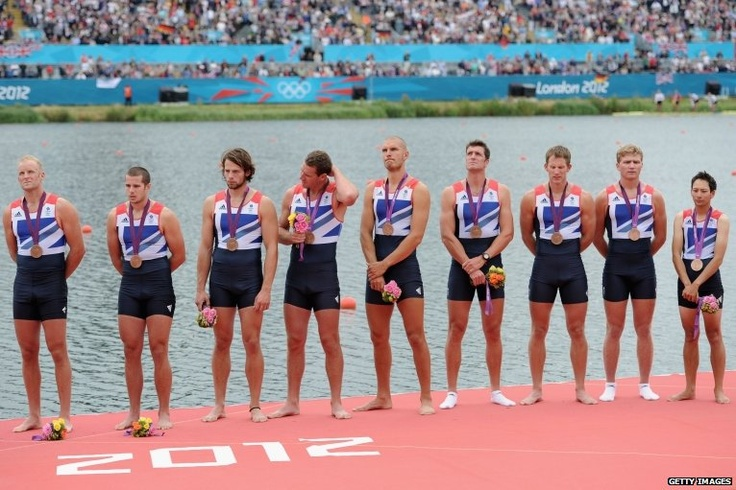 Great Britain's men's eight rowing team
