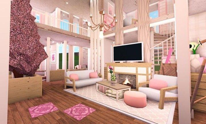 """Pin By Н""""©ð""""žð""""ªð""""¢ Н˜¤ð˜°ð˜ð˜¢ On Bloxburg Ideas House Decorating Ideas Apartments Tiny House Bedroom Tiny House Layout"""