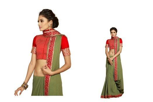 INDIAN SAREE SARI BLOUSE BOLLYWOOD DRESS DESIGNER PARTY WEAR ETHNIC WEDDING SARI #ManasCollections #Saree