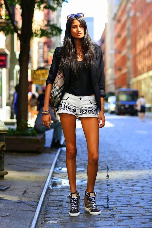 tribal shorts in NYC
