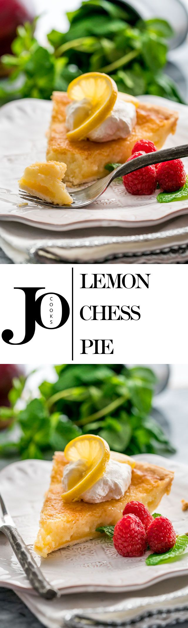 This Lemon Chess Pie is really easy to make and quick to put together. All the lemons simply make this pie divine, with its flaky crust and its incredible lemon curd like filling.