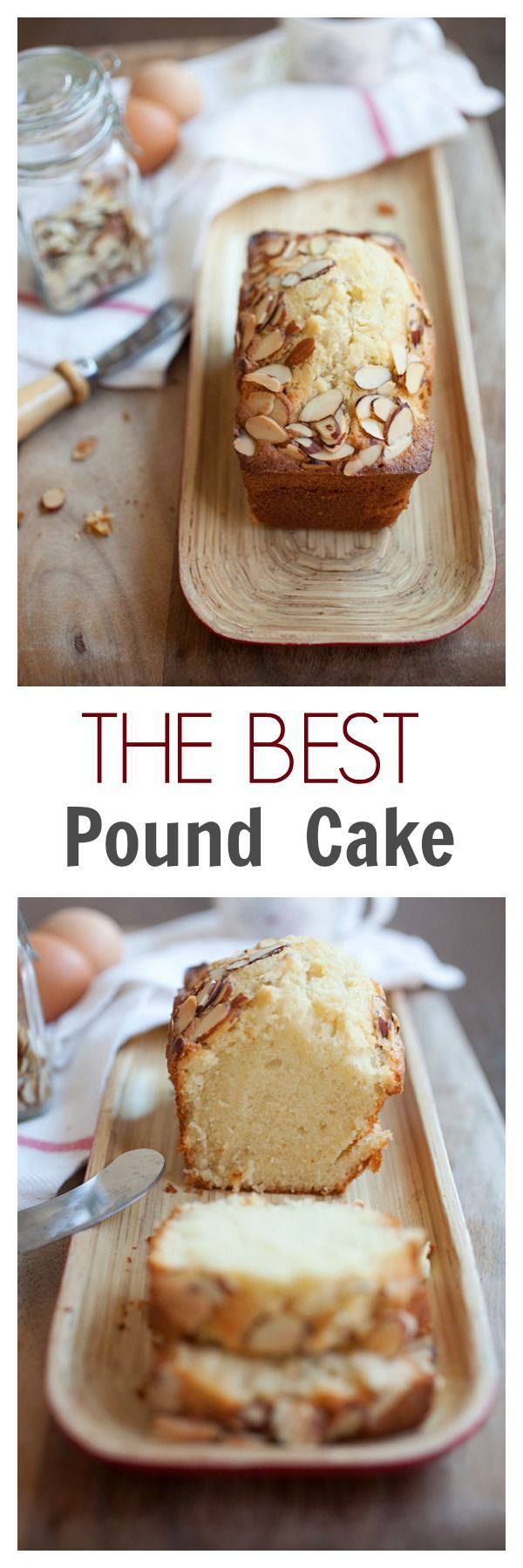 The BEST and EASIEST Pound Cake - super EASY recipe for rich, buttery and sweet pound cake ever | rasamalaysia.com