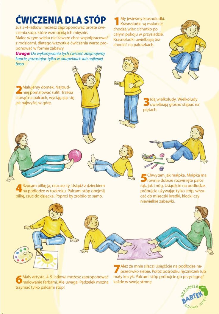 Ćwiczenia dla stóp