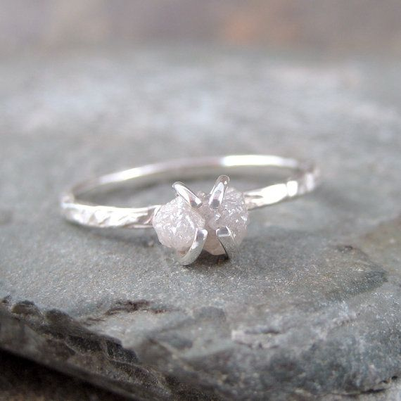 I need it! its soo beautiful!!  (Diamond In The Rough Uncut Diamond Solitaire by ASecondTime, $195.00)