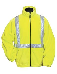 Tri-mountain Safety Workwear Precinct Micro Fleece Jacket