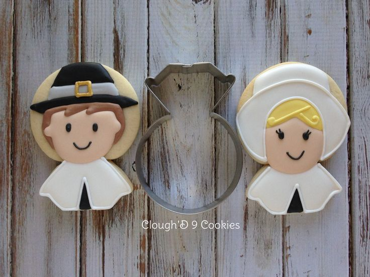 Pilgrims (Engagement Ring Cookie Cutter)