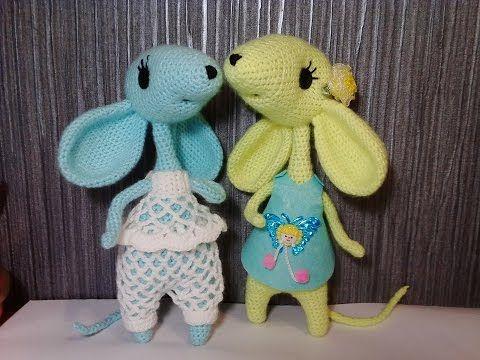 Мышка, ч.1. Mouse, р.1. Amigurumi. Crochet. - YouTube