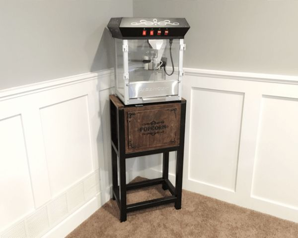 DIY popcorn stand: homemnprovement blog