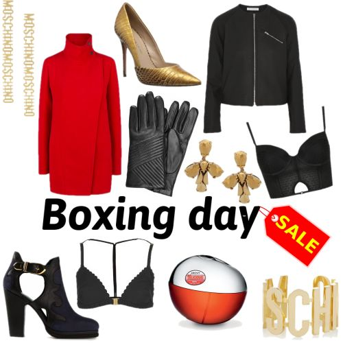 It's Boxing Day! and that can only mean one thing..... Yes, It's time for the SALES