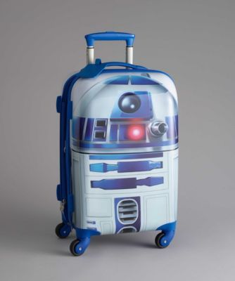 r2d2 suitcase - Prepare for your trip to a galaxy far, far away by securing your belongings in a sleek Star Wars® suitcase. #starwars
