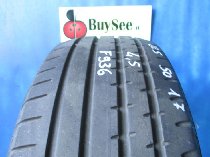 GOMME USATE ESTIVE 225/50 R17 CONTINENTAL SPORT CONTACT2 PNEUMATICO SUMMER F936
