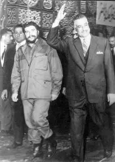 جمال عبد الناصر وتشيجيفارا Abdel Nasser and Che Guevara