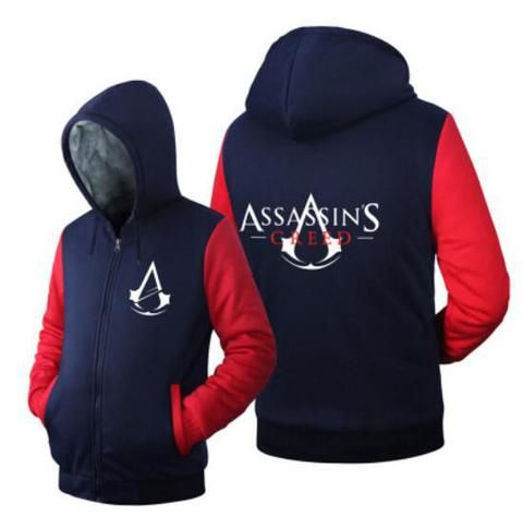 """Assassin's Creed """"Nothing is True Everything is Permitted"""" Fleece Hoodies. Limited time only!  #TitanDesignTech #FreeShipping"""