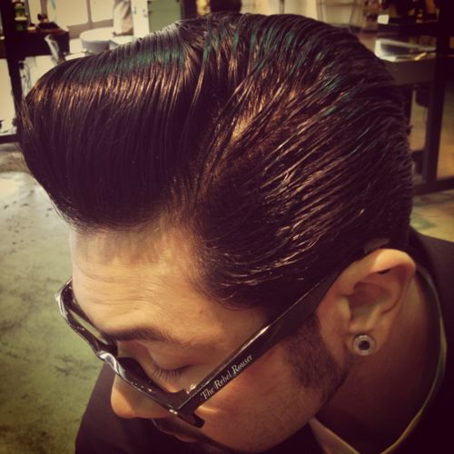 50 Best Pompadour Images On Pinterest Male Haircuts