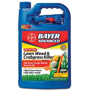 Bayer Advanced Lawn Weed & Crabgrass Killer