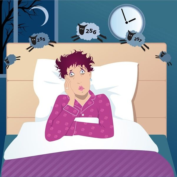 Menopause can lead to sleep problems, including sleeplessness that might be a sign of sleep apnea