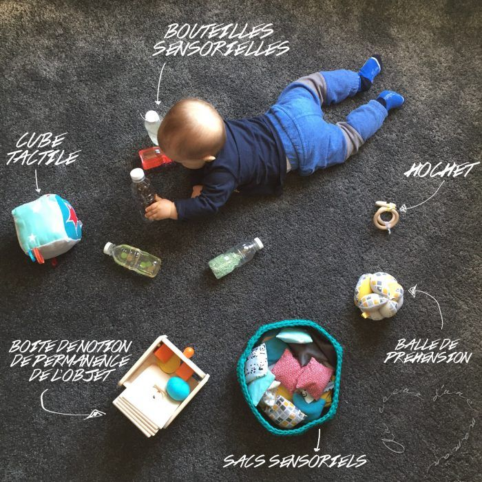 Ma sélection d'activités Montessori pour bébé de 0 à 9 mois   – Montessori