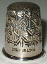 Sterling Silver Thimble, Sterling Merchandising Company, Birmingham 1982