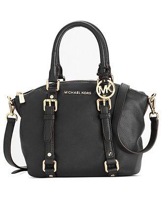 MICHAEL Micheal Kors Handbag, Bedford Small Satchel - Shop All - Handbags  Accessories - Macys - #womensfashion, #clothing, #women