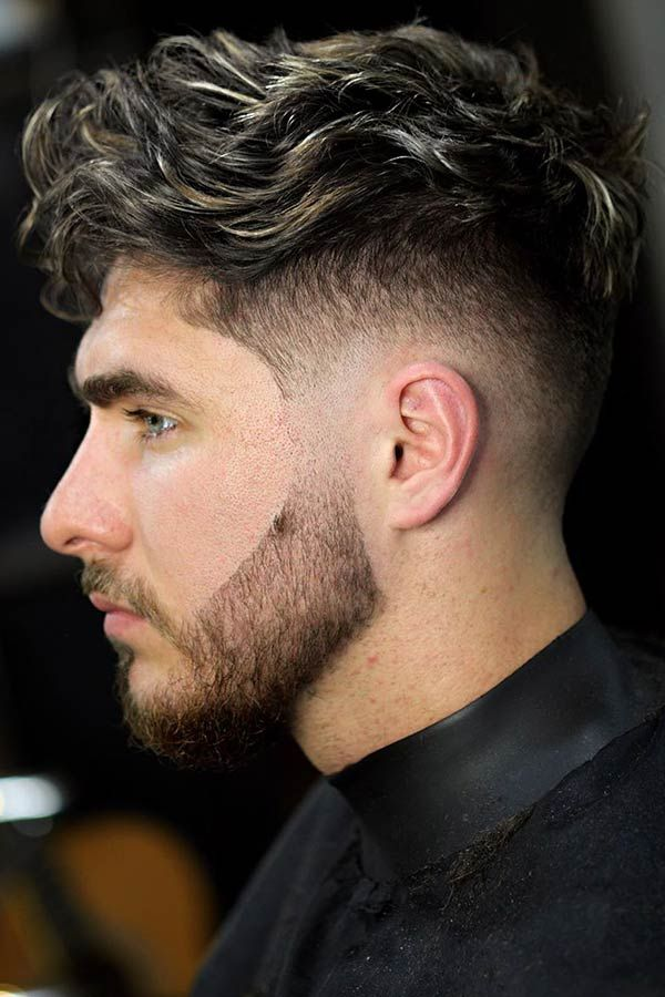 Fresh And Trendy Curly Undercut Ideas For Men Menshaircuts Com Mens Haircuts Fade Mid Fade Haircut Curly Hair Men