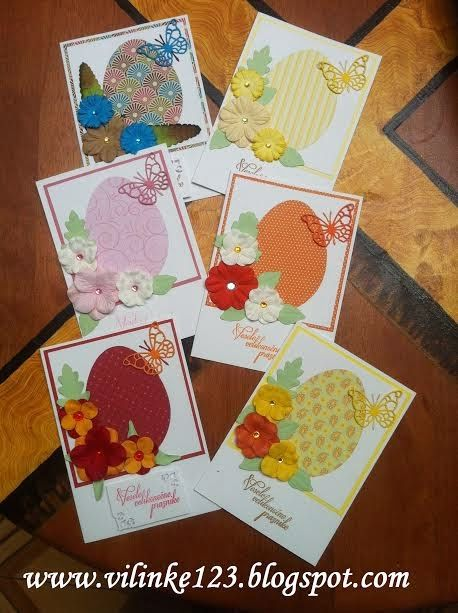 Vilinke Ročno delo: Jajce v cvetju: Handmade card, Easter card, Happy Easter card, Easter Egg Card,  flowers, butterflies