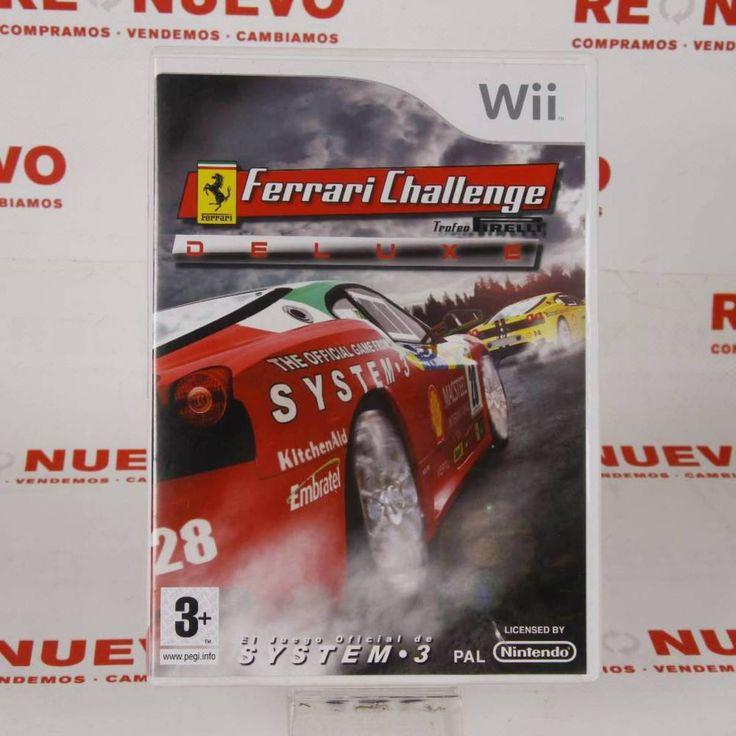 Videojuego para WII FERRARI CHALENGE E270489 # Videojuego Ferrari Challenge#de segunda mano# WII
