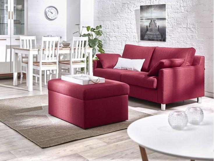 Rote Couch Im Wohnzimmer   Welche Wandfarbe Und Co. Passen Dazu?