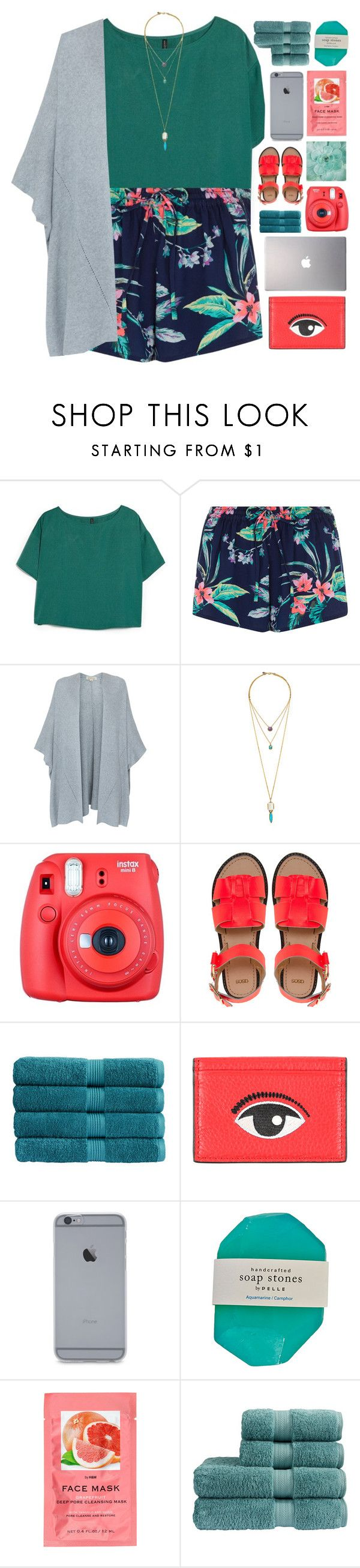 """""""HAWAII"""" by emmas-fashion-diary ❤ liked on Polyvore featuring MANGO, Repeat Cashmere, Fuji, ASOS, Christy, Kenzo, H&M and Samsung"""