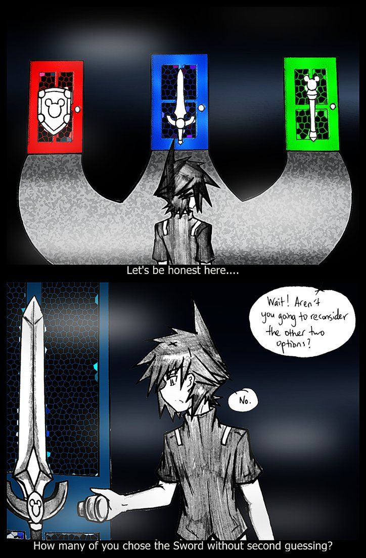Admit it, while playing Kingdom Hearts how many of you chose the Sword without looking at the other two choices; the Staff and Shield? Granted, each has it's own pros and cons while affecting the s...