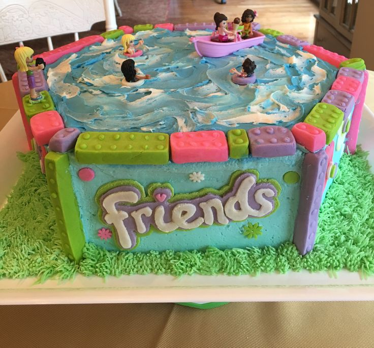 Lego friends cake by Joanne Rocco